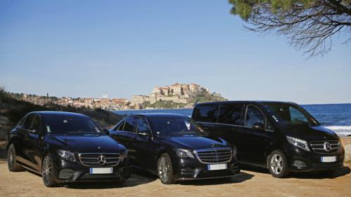 Location de véhicules haut de gamme avec chauffeur en Corse