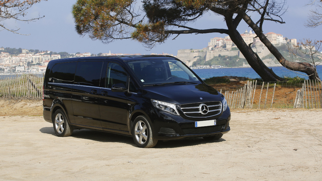 Mercedes Class V - 7 personnes  - 5/7 bagages  - Mariani Limousines
